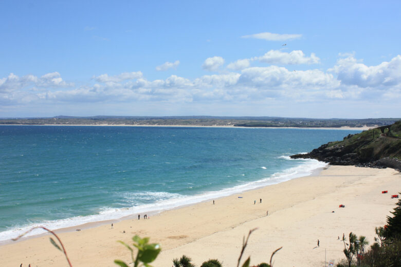 St Ives Beach in Cornwall