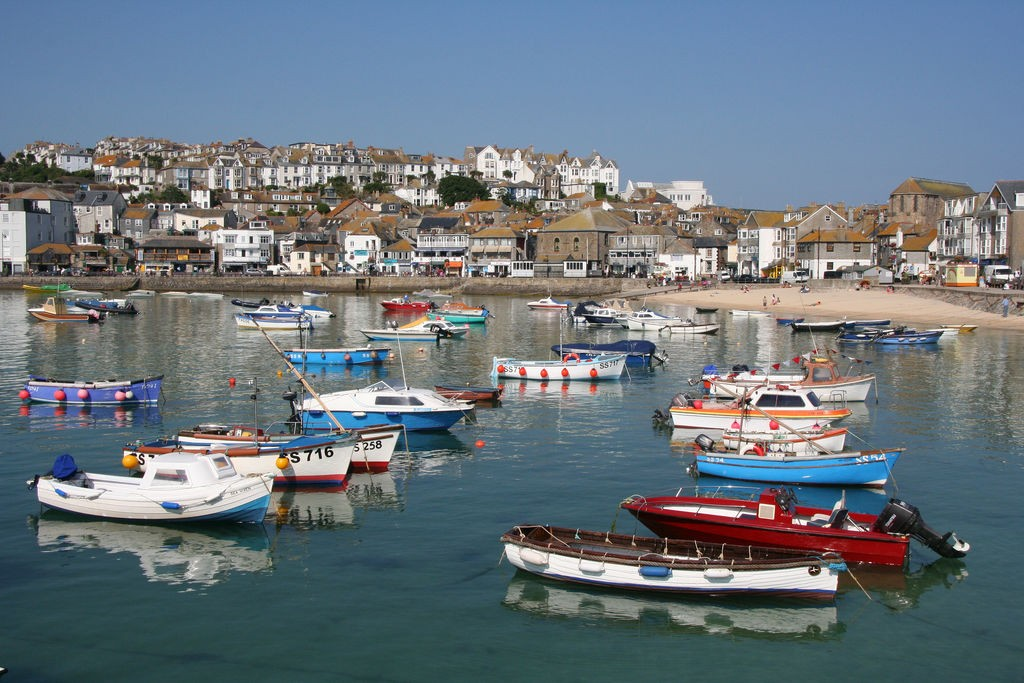 St. Ives in Cornwall - St Ives Harbour