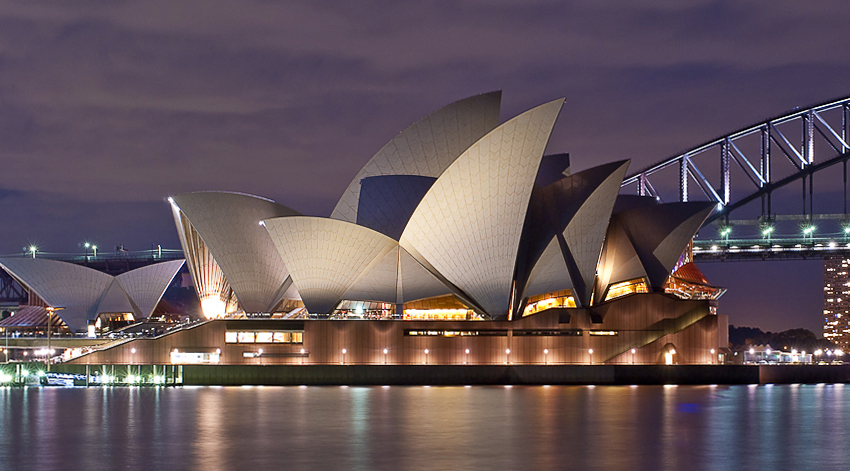 A Holiday In Australia - Sydney Opera House