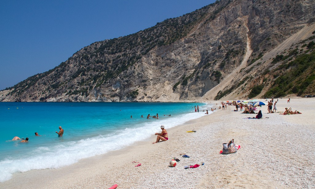 A Villa Holiday In Greece - Myrtos Beach
