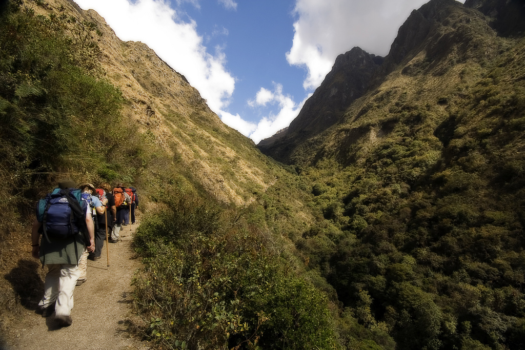 Trekking on the Inca Trail